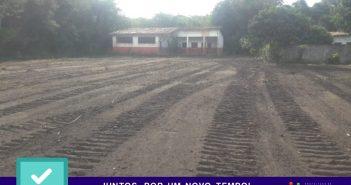Prefeitura realiza serviços na vicinal da Baixinha