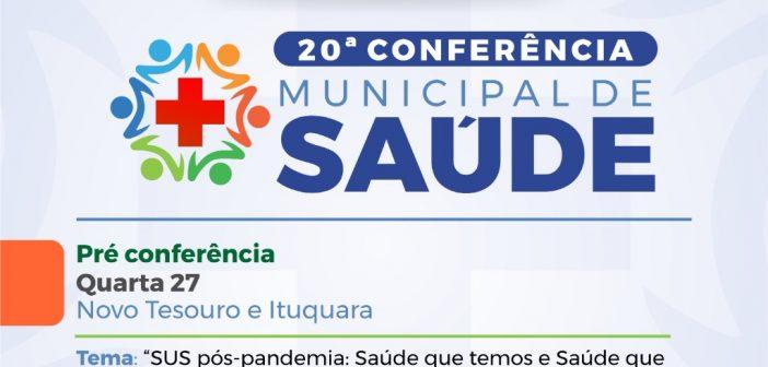 Pré Conferência de Saúde